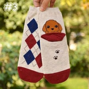 New! Cute Puppy Socks